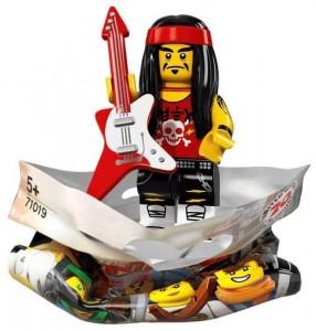 Конструктор LEGO Minifigures Гонг & Рокер-гітарист