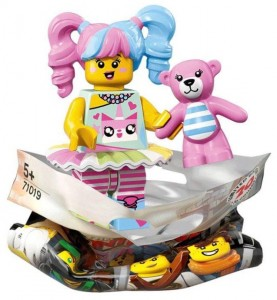 Конструктор LEGO Minifigures Поп-дівчина