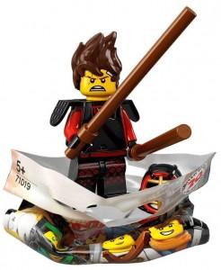 Конструктор LEGO Minifigures Майстер кендо Кай