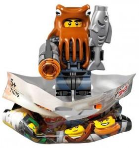 Конструктор LEGO Minifigures Восьминіг із Армії Акул