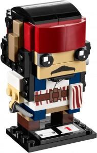 Конструктор LEGO Brickheadz Captain Jack Sparrow  (Капітан Джек Горобець)
