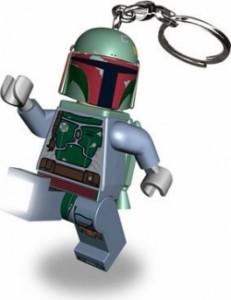 """Лего брелок-ліхтарик """"Boba Fett"""" (Боба Фет) з батарейкою"""