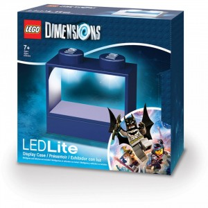 Дисплей-підставка з підсвіткою для мініфігурок LEGO