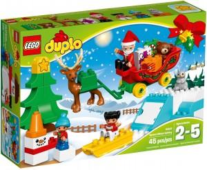 Конструктор LEGO DUPLO Зимові канікули Санти