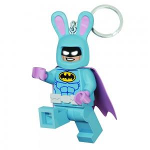 """Брелок-ліхтарик """"Лего-Фільм Бетмен у костюмі великоднього зайця"""""""