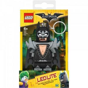 """Брелок-ліхтарик """"Лего-Фільм Бетмен у костюмі глем-рокера"""""""