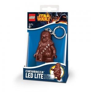 """Брелок-ліхтарик у вигляді фігурки Лего Зоряні війни """"Чубака"""""""
