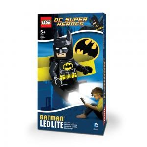 Ліхтарик на голову Лего Супергерої - Бетмен