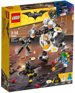 Конструктор  LEGO Batman Битва за їжу робота Яйцеголового