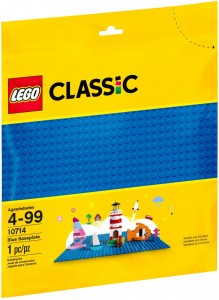 Конструктор LEGO Classic Базова пластина синього кольору