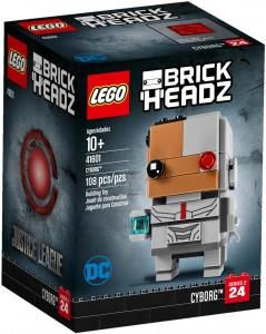 Конструктор LEGO BrickHeadz Кіборг