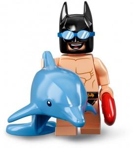 Конструктор LEGO Minifigures Бетмен у басейні