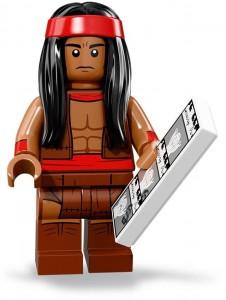 Конструктор LEGO Minifigures Вождь Апачі