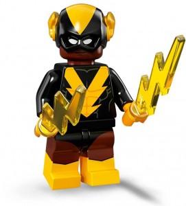 Конструктор LEGO Minifigures Чорний Вулкан