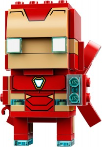 Конструктор LEGO Brickheadz Залізна людина МК50