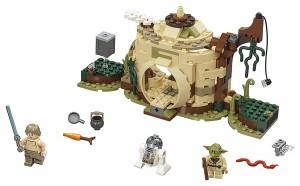 Конструктор LEGO Star Wars Хатина Йоди