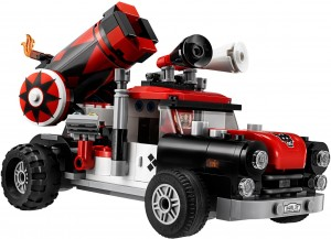 Конструктор  LEGO Batman Гарматний напад Харлі Квін