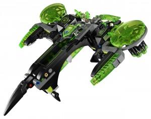 Конструктор  LEGO Nexo Knights Бомбардувальник Берсеркер