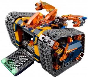 Конструктор  LEGO Nexo Knights Пересувний арсенал Акселя
