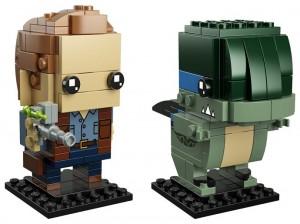 Конструктор LEGO Brickheadz Оуен і Блу