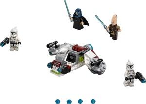 """Конструктор  LEGO Star Wars Бойовий набір """"Джедаї і бійці-клони"""""""