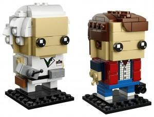 Конструктор LEGO Brickheadz Марті МакФлай і Док Браун