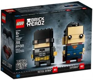 Конструктор LEGO Brickheadz Бетмен і Супермен