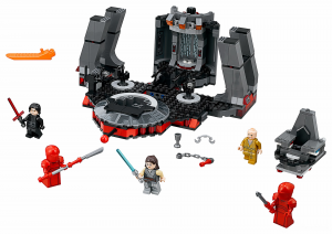 Конструктор LEGO Star Wars Тронна зала Сноука