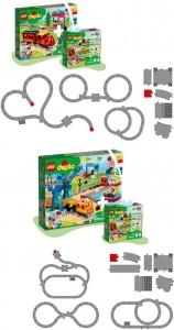 Конструктор LEGO DUPLO  Залізничні колії