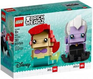 Конструктор LEGO Brickheadz Аріель та Урсула