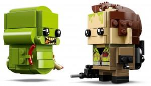 Конструктор LEGO Brickheadz Пітер Венкман та Лизун