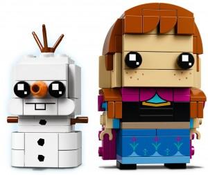 Конструктор LEGO Brickheadz Анна та Олаф