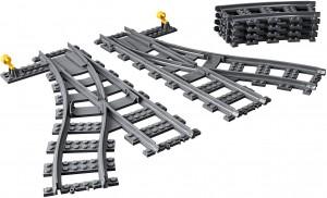 Конструктор  LEGO City Стрілочний перевід