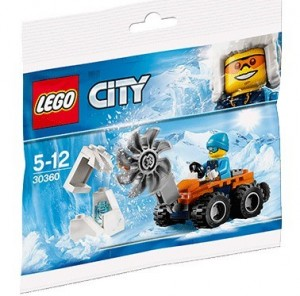 Конструкор LEGO CITY  Мотопилка