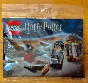 Конструктор Harry Potter Гаррі вирішує до Гогвортсу