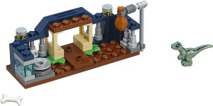 Конструктор LEGO Jurassic World Манеж для малюка-велоцераптора