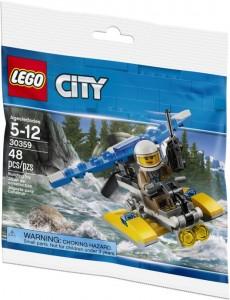 Конструктор LEGO City Поліцейський гідроплан