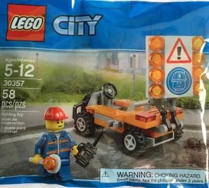 Конструктор LEGO City Робітник дорожньої служби