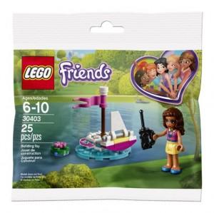 Конструктор LEGO Friends Човен Олівії на дистанційному керуванні