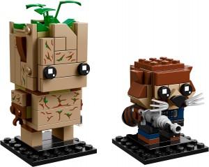Конструктор LEGO Brickheadz Ґрут і Ракета