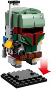 Конструктор LEGO Brickheadz Боба Фетт