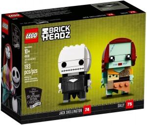 Конструктор LEGO Brickheadz Джек Скеллінгтон і Саллі