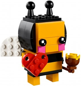 Конструктор LEGO Brickheadz Бджілка на день Св. Валентина