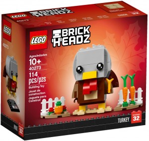 Конструктор LEGO Brickheadz Індичка