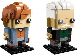 Конструктор LEGO Brickheadz Ньют Саламандер і Герельд Гріндевальд