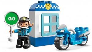 Конструктор LEGO DUPLO Поліцейський мотоцикл