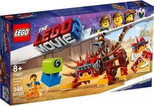 Конструктор LEGO MOVIE 2 УльтраКиця та Вайлдстайл-воїн!