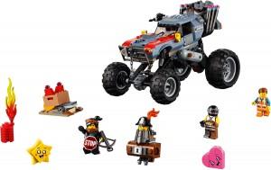 Конструктор LEGO MOVIE 2 Рятівний багі Еммета й Люсі!