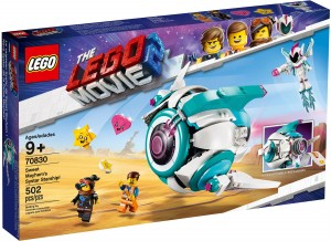 Конструктор LEGO MOVIE 2 Сес-Терський зореліт Любки Хаос!