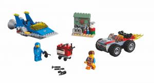 Конструктор LEGO MOVIE 2 Майстерня Еммета й Бенні «Будуй-ремонтуй»!